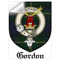 Gordon Clan Crest Tartan Wall Decal